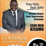 With your ID and vote. ...you have a say in better leadership. ...Kisumu it is our time to shape the leadership. https://t.co/6nwKyUGW3l