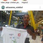 Hugo Bravo. Ya en Cáceres!! Bienvenido y mucha suerte! https://t.co/dmKrF0uv2i