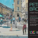 Heres a peek at the press ad for my upcoming exhibition at @VictoriaArtBath starting 3 December. #Bath #VictoriaArtGallery #ArtExhibition https://t.co/wpDjgMSd1V