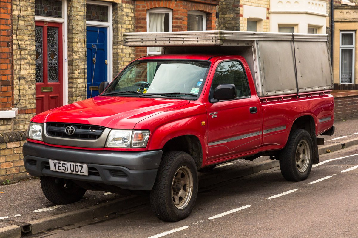 Adieu my beloved #Toyota #Hilux - Your's for less ££ than a camera lens:  https://t.co/0CSItHcSPI