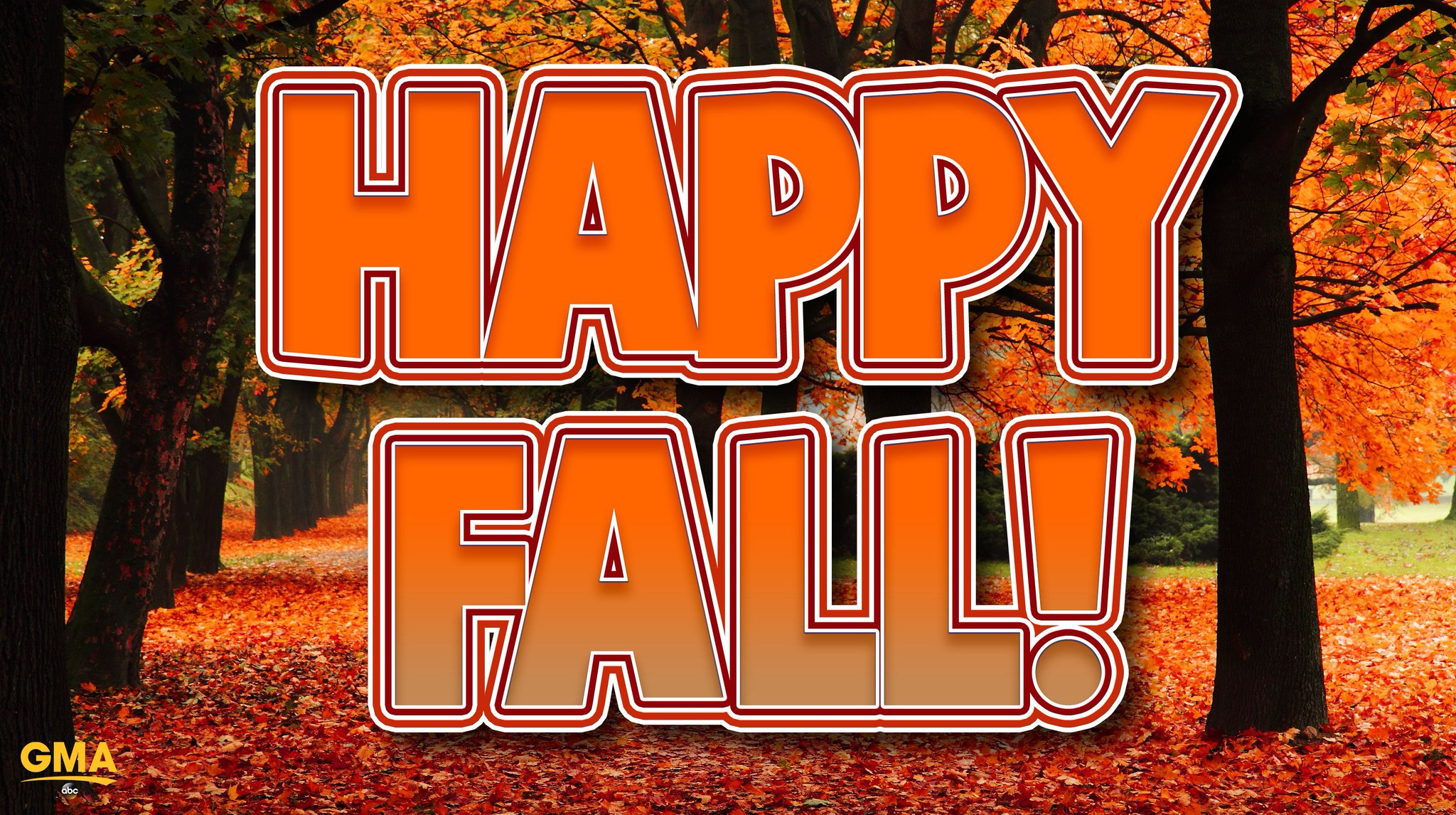 Happy #FirstDayofFall! �� https://t.co/9bvPL2EVZq
