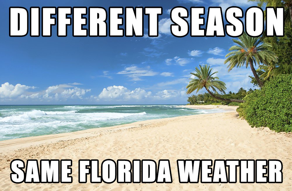 Welcome to Fall in Florida...... https://t.co/jqvdGSGzgK