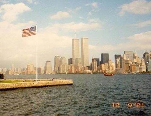 15 years ago today. September 10, 2001 #NeverForget https://t.co/8IziRAZ8Pu