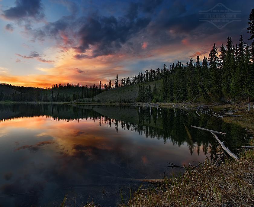 Hidden Lake at sundown | Photography by ©Keith Williams https://t.co/Swv9HAKpQd