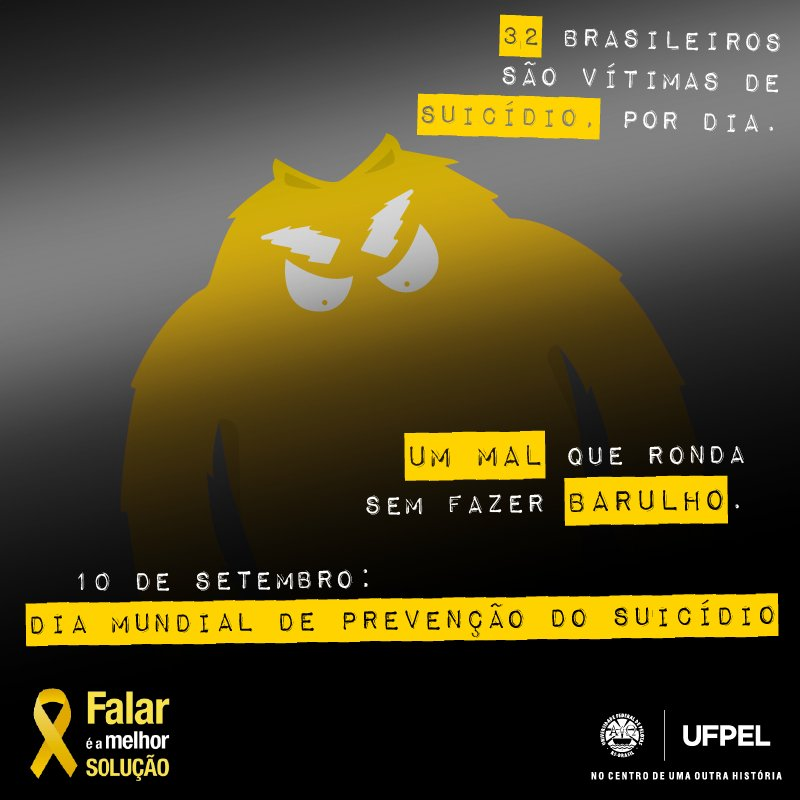 https://t.co/gWk0Bs54KF   #setembroamarelo  #prevençãodosuicídio #valorizaçãodavida #saúdemental https://t.co/9Y08dMPzye