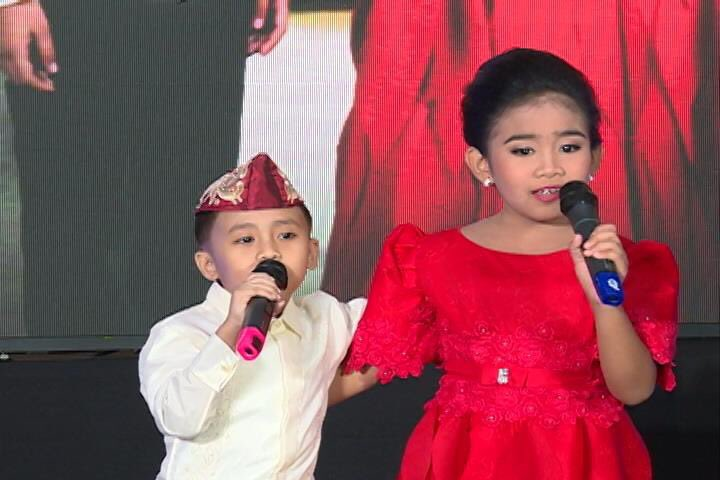ilocos kids join look alike sing alike imelda ferdinand marcos