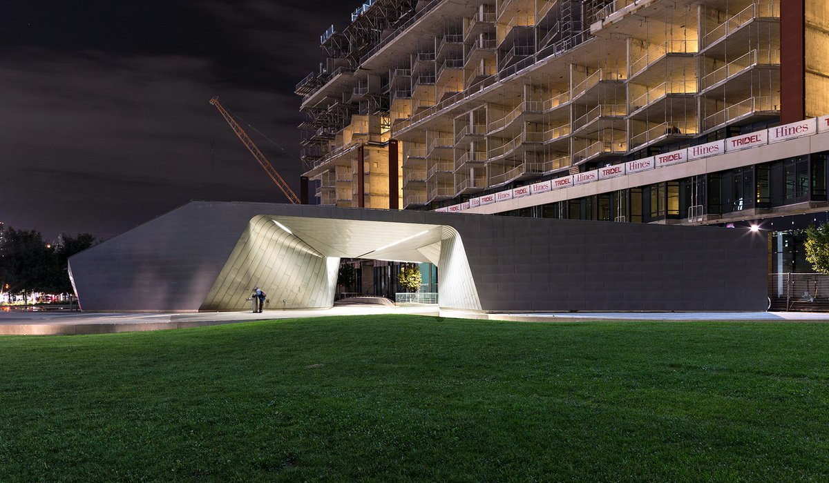 rt vikpahwa construction frames sherbourne common s glowing