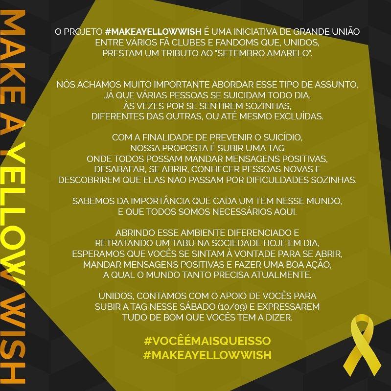 #MakeAYellowWish: Make A Yellow Wish