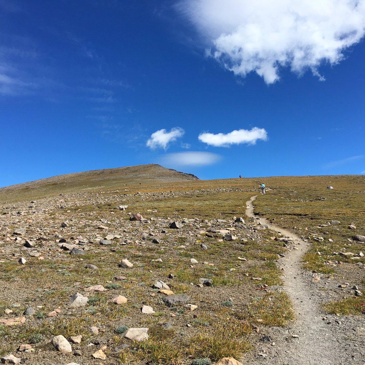 Trail to the sky. Third Burroughs at @MountRainierNPS #pnw #hiking https://t.co/m0ruz4xRnR