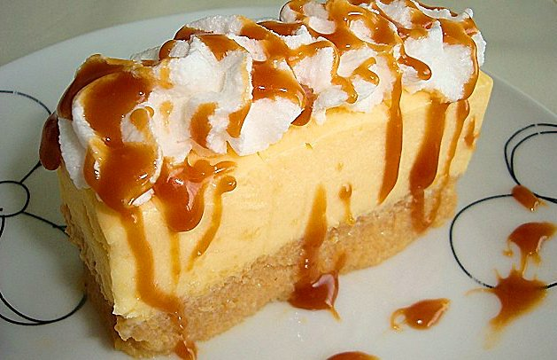 Vanilla and Caramel Cake Recipe: