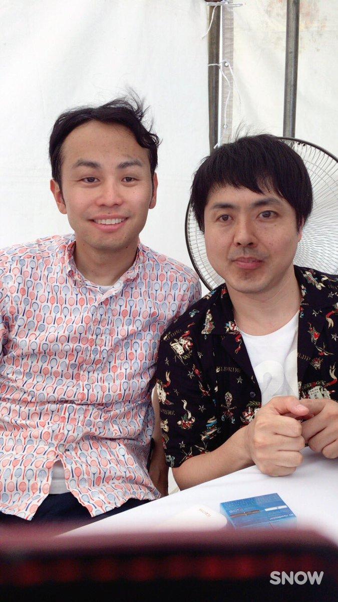 ノンスタ井上さんとアンガ田中さんが顔交換