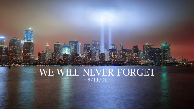 15 years ago today. Never Forget.