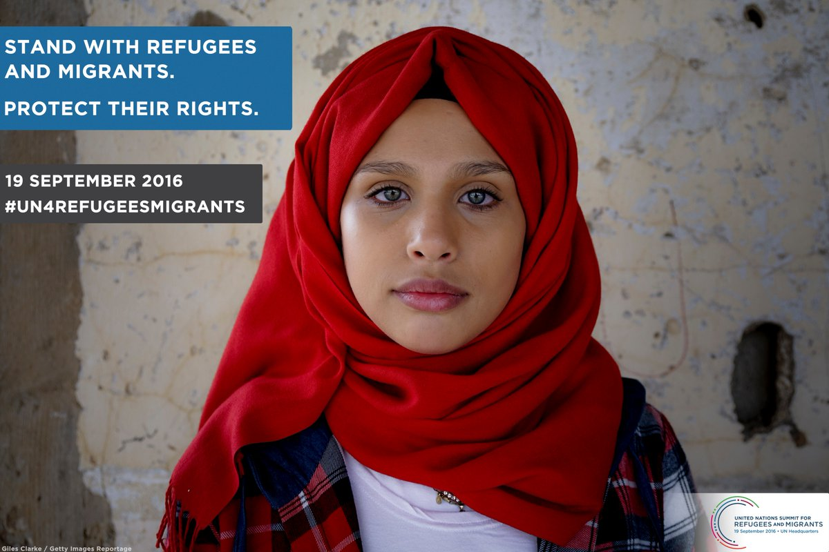 Ask world leaders to protect the rights of refugees & migrants: https://t.co/rOTITRPXfq #UN4RefugeesMigrants https://t.co/PluQminqxZ