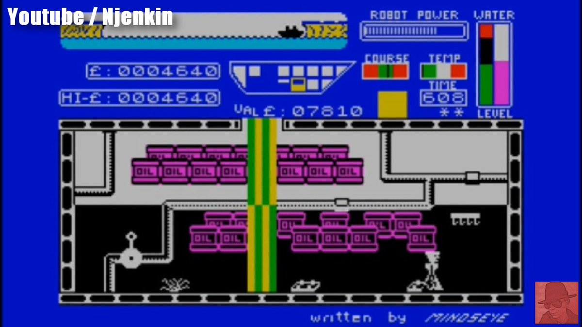 Worse Things Happen at Sea. On this ship anyway. It has more holes than a Swiss cheese! #Retrogaming #ZXspectrum https://t.co/cvAsjI4akl