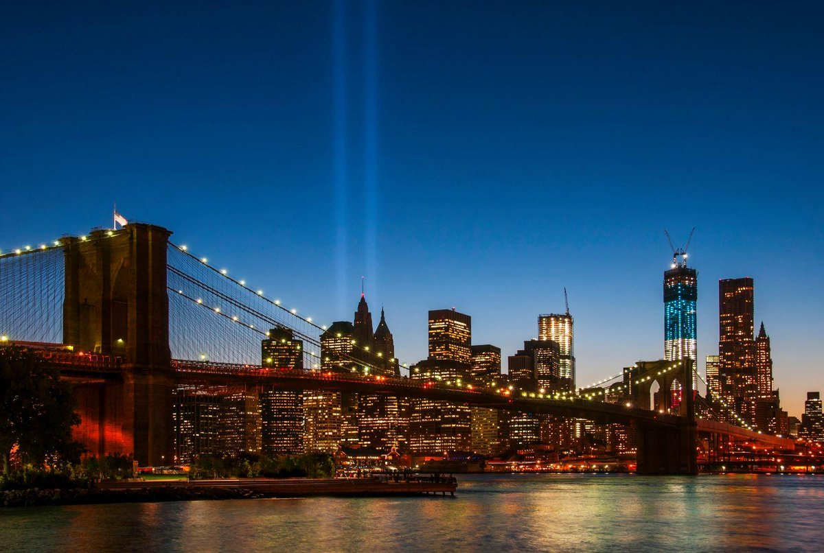 15 years ago, the world stood still. We remember the families, friends & first responders affected. #NeverForget https://t.co/gGqpUoylE7