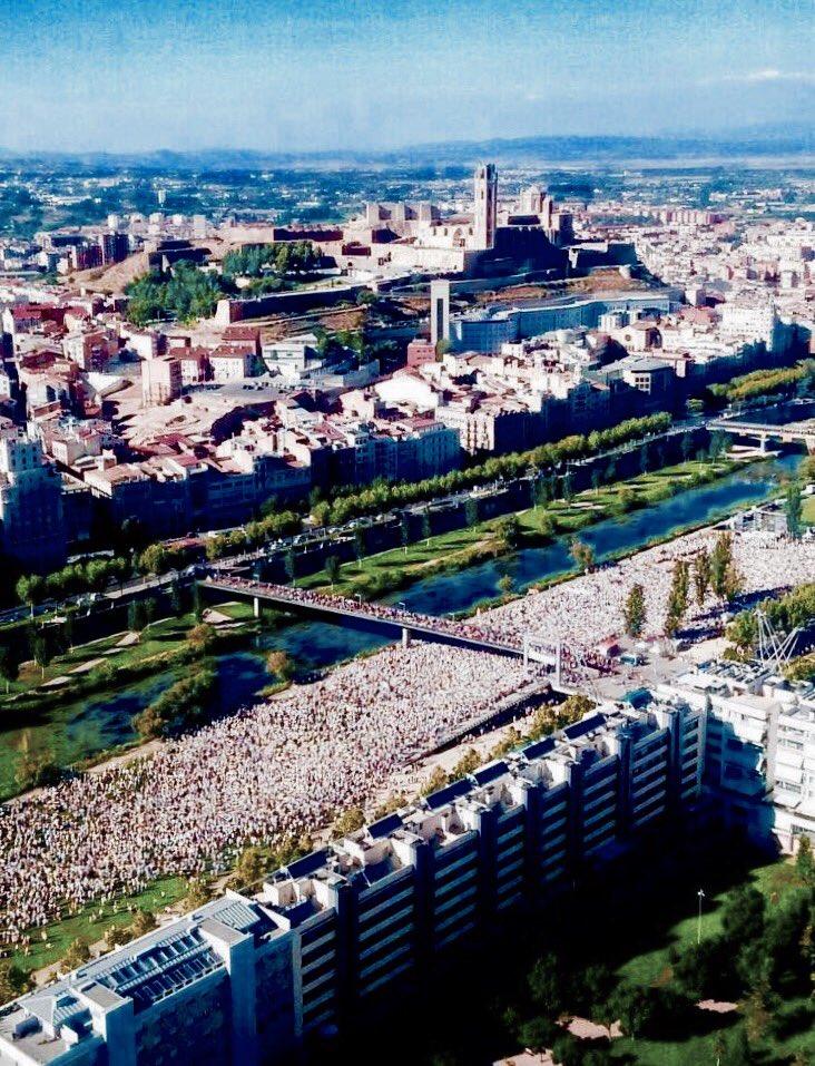 Imatge impactant de Lleida. @rac1 https://t.co/SFgPUUwHIl