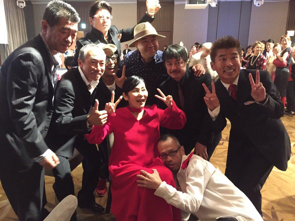 """中野英雄 on Twitter: """"親愛なる川崎悦子先生還暦パーティー! 我が"""