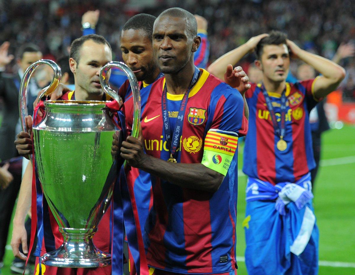 Happy 37th Birthday Two Time UCL Winner Barcelona Hero Eric Abidal