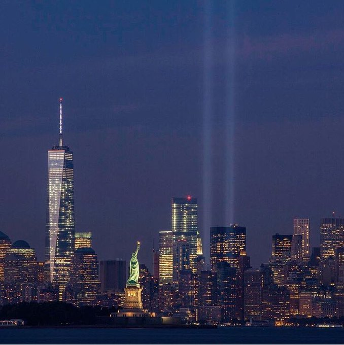 I will #neverforget this day 15 years ago. Reflecting on the absence but also remembering the strength and courage.