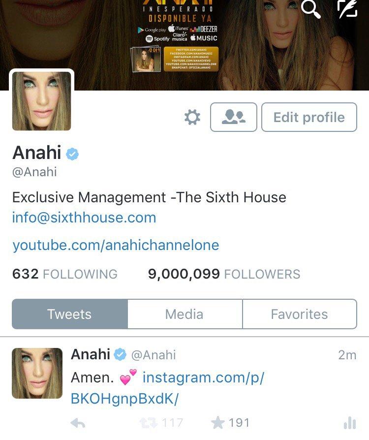 Ya somos 9 millones ! ゚リᄆ Que alegrᅢᆳa ! Muchᅢᆳsimas gracias por seguirme y acompaᅢᄆarme en cada momento ! ゚リペリリ゚リリ゚メユ゚メユ゚メユ゚メユ゚メユ゚メユ https://t.co/ifmSXG8hiM