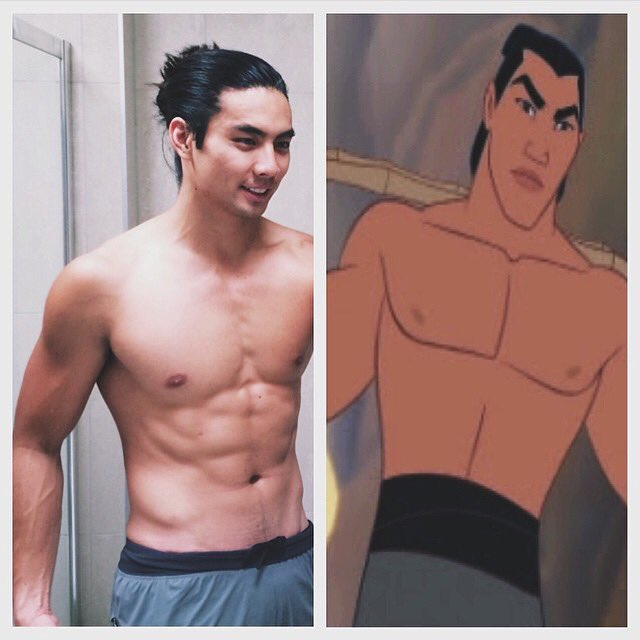 So, apparently 'Mulan' live action IS happening? Now I'm really sad that I lobbed off my hair