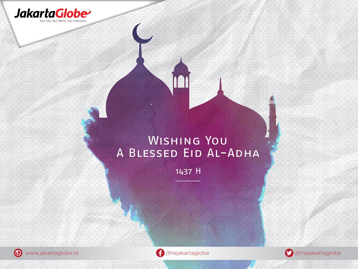 Warm greetings to you and your loved ones for a blessed Eid al-Adha https://t.co/PiY2R5li0W