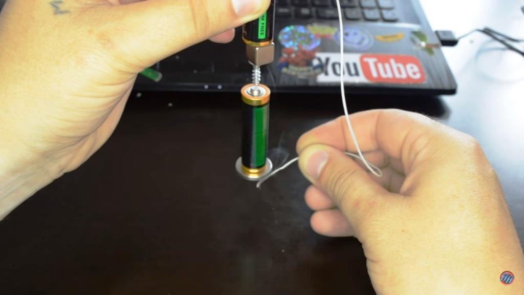 Как сделать батарейку просто