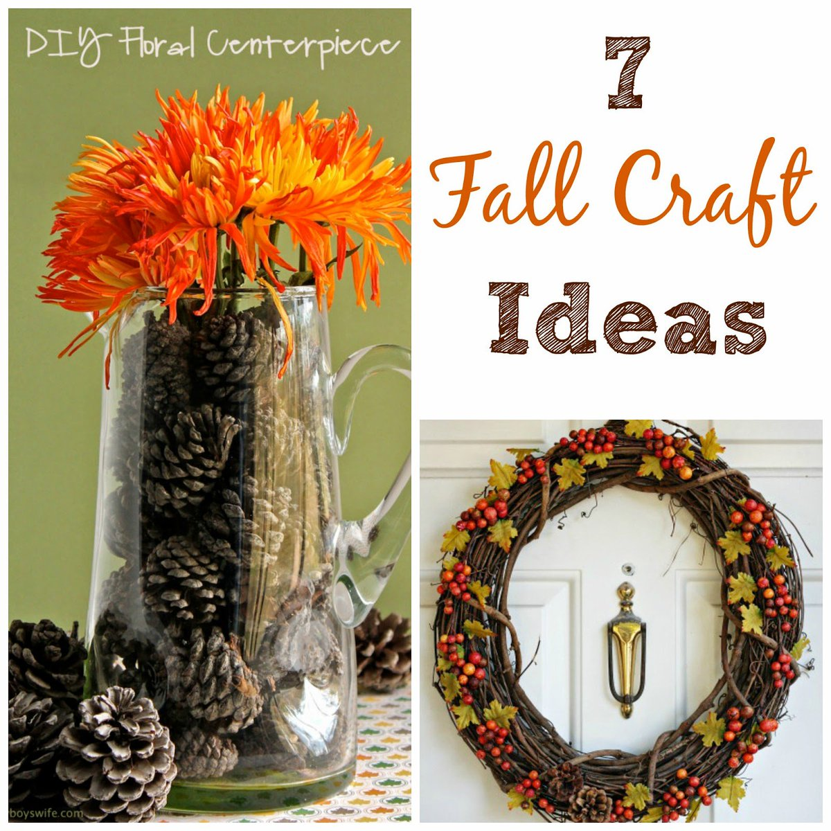 Top Fall Crafts for Friday #crafts #DIY