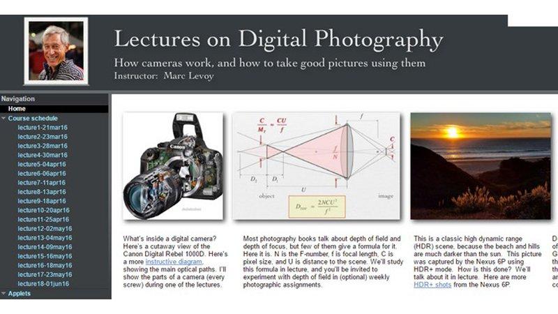 Un profesor de Stanford comparte gratis su curso universitario de fotografía online https://t.co/6vsJHKvMsY https://t.co/jnM0sACGzy