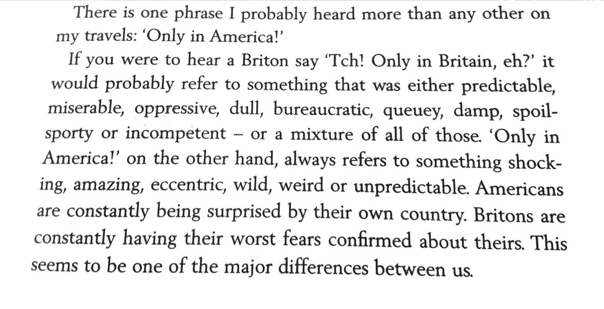 Stephen Fry in America on the phrase 'only in America'. https://t.co/hAC8jis9BS