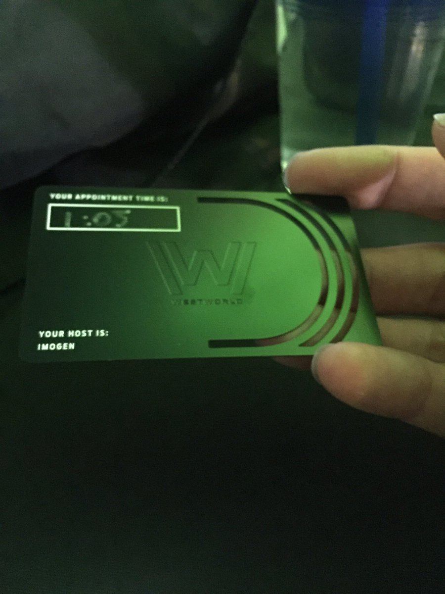 .@WestworldHBO  Pretty cool!!!! If you're at #tcDisrupt, sign up for the coolest #LaunchParty / experience. https://t.co/mIJiLEL4Jc