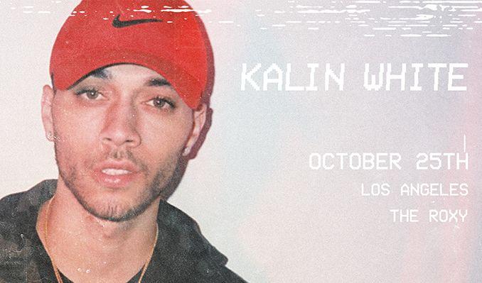 Just announced!  KALIN WHITE 10.25  https://t.co/la0ZiSImWk @KalinWhite https://t.co/RQol8ywmob