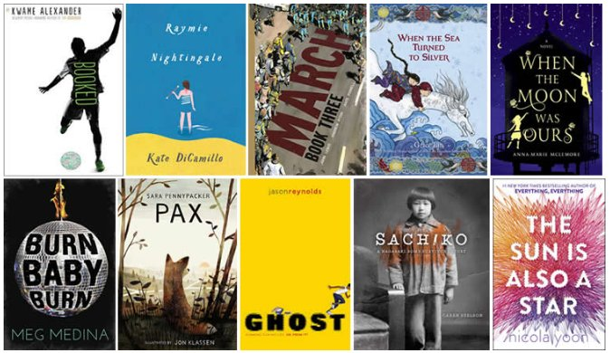 Congratulations to our Longlist for the 2016 #NBAwards for Young People's Literature! https://t.co/24ihGSWj0U https://t.co/2wWmd1hiCs