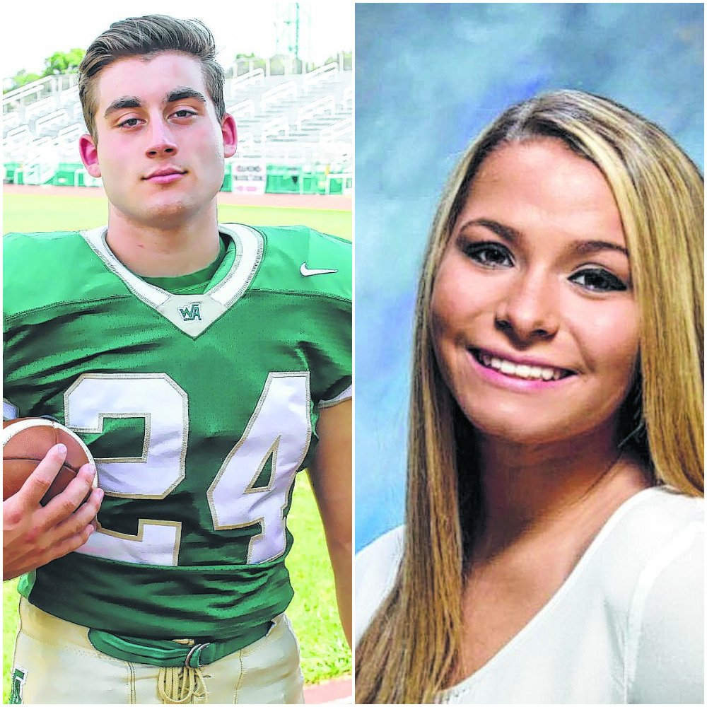 HS Athletes of the Week: Wyoming Area's Brian Miles and Hanover Area's Karly Bennett https://t.co/A0Phvf0xU6 https://t.co/R4ZpsVUkXi