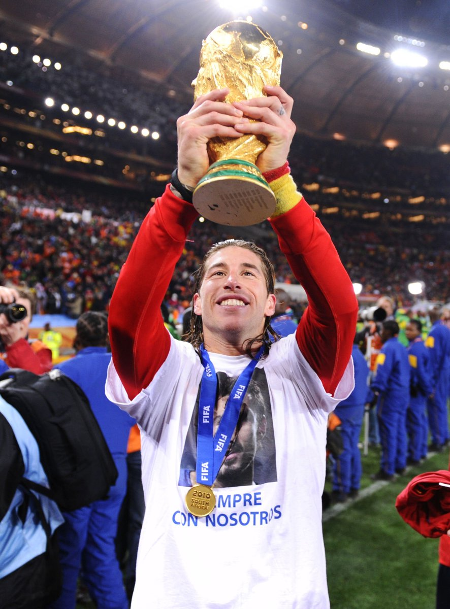 Sergio Ramos World Cup Winner At Right Back Multiple Champions League