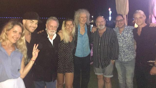 Queen, Adam Lambert land in Israel ahead of Tel Aviv concert https://t.co/KpqYKnNdrD via @ynetnews https://t.co/tDDVgUTW42