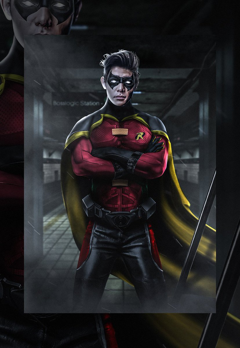 Here is my @RyankPotter as Tim Drake with an added hooded version @BenAffleck https://t.co/vmXbRox6bX