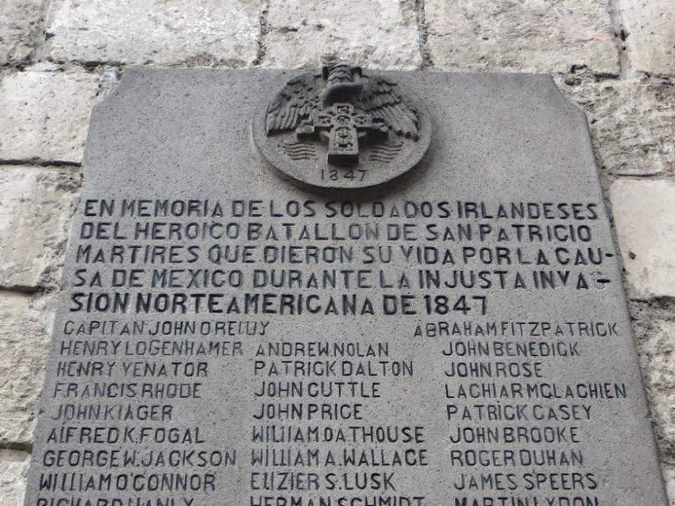 Hoy se conmemora de la gesta heroica del Batallón de San Patricio en México. #datos #vasconcelos https://t.co/Bh3lB2Bhjs