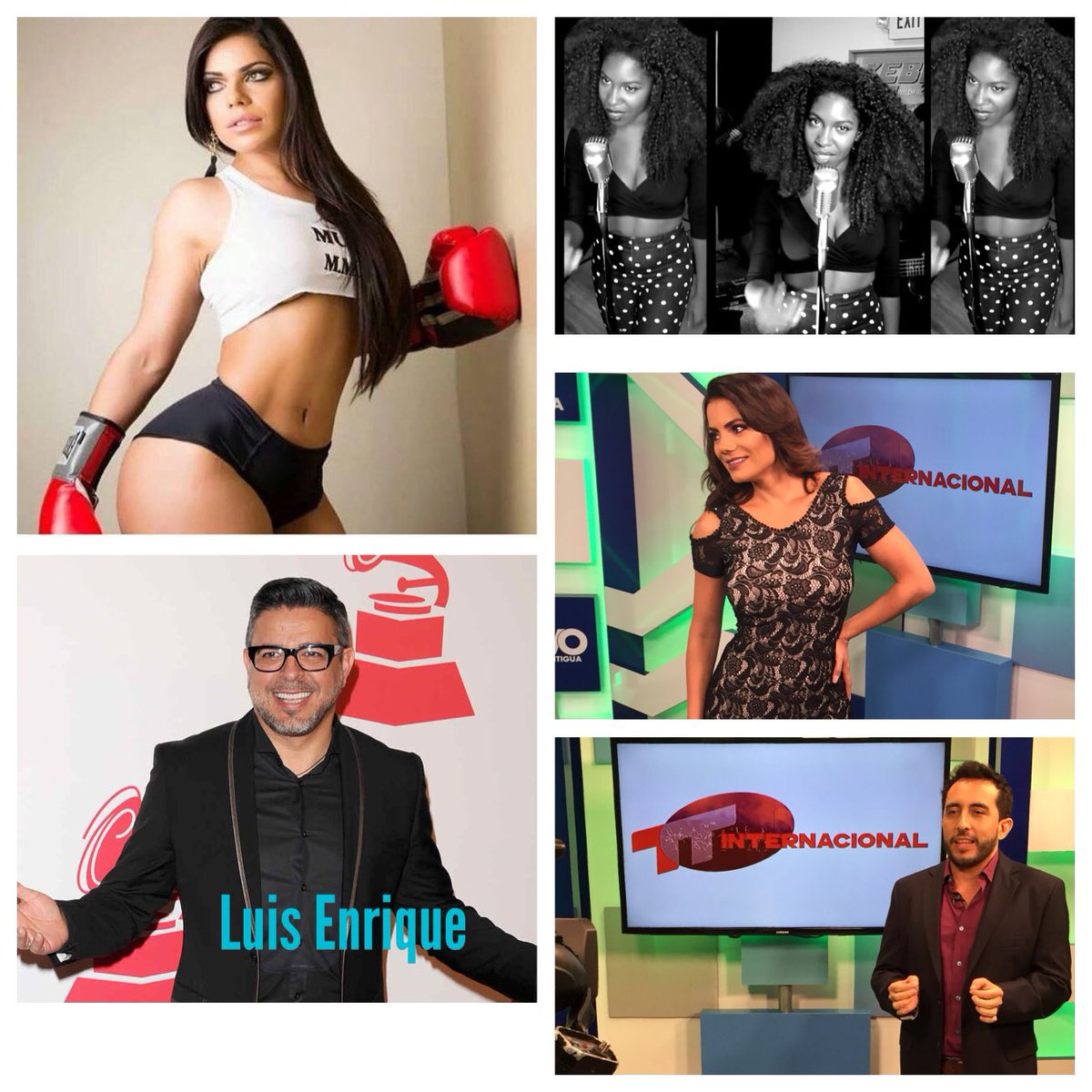 RT @ttguatemala: Hoy Lunes 5:00 P.M. Por @CanalAntigua tendremos a Suzy Cortez Miss Bumbum 2016, @LuisEnrique y la cantante Keba! https://t…