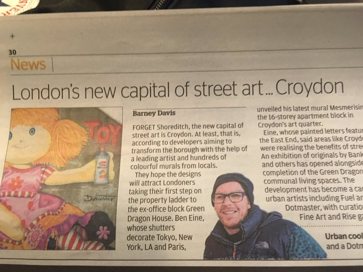 Yoooooo, Croydon is now London's new capital of street art (according to the Evening Standard)