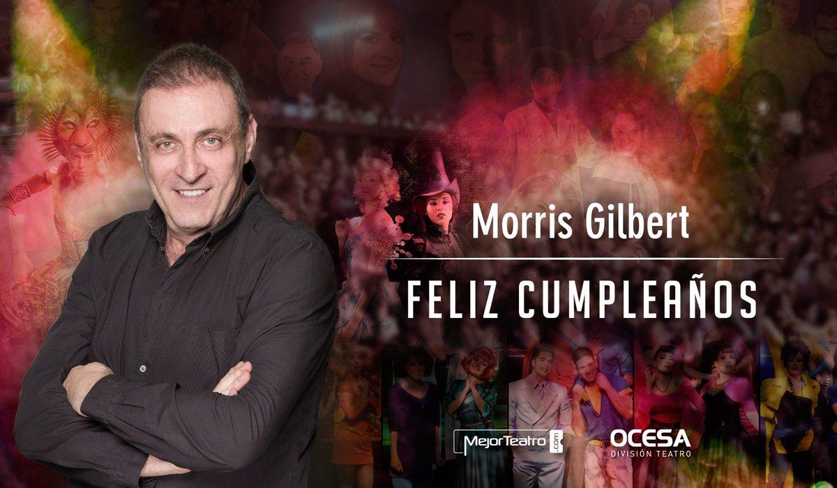 Celebremos al productor más importante de teatro en Latinoamérica @morrisgil Gracias por todas las terceras llamadas https://t.co/HXlzf8QJm1