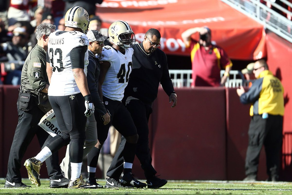 Saints cb delvin breaux expected to miss 6 weeks after suffering