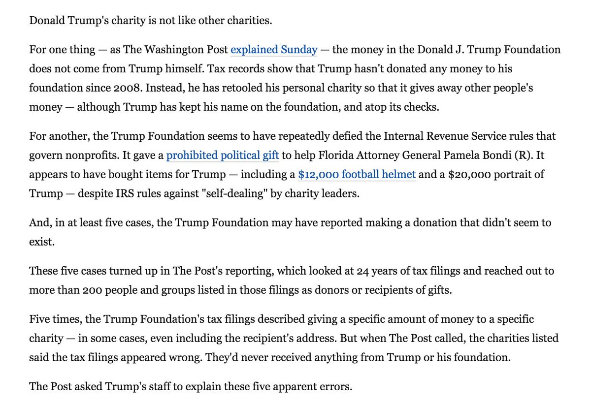 Example Of Thesis Statement For Essay Fahrenthold Looks Into Some Phantom Donations From The Trump Foundation  Https Thesis Statement For A Persuasive Essay also Proposal Essay Topics List Fahrenthold Looks Into Some Phantom Donations From The Trump  How To Write A Proposal For An Essay