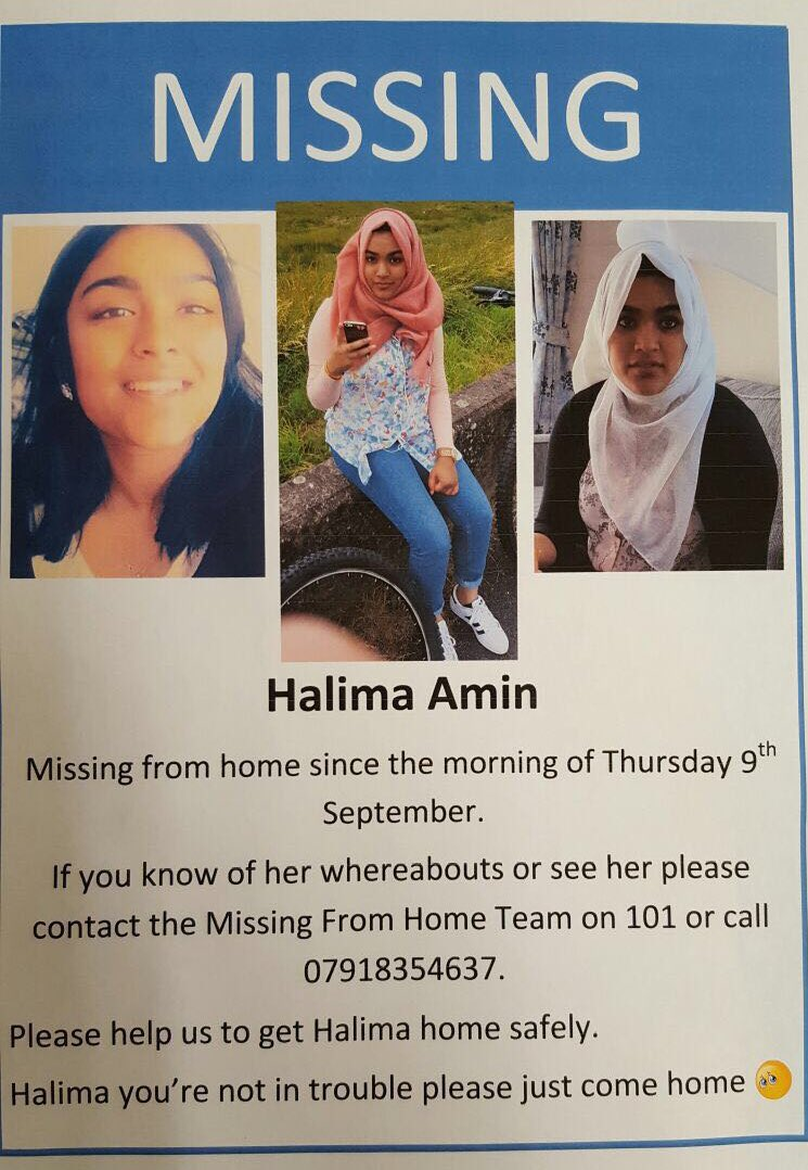 #missingPerson please #RT as it will help raise awareness and may help in reuniting her with her loved ones https://t.co/JqcEgysMqK