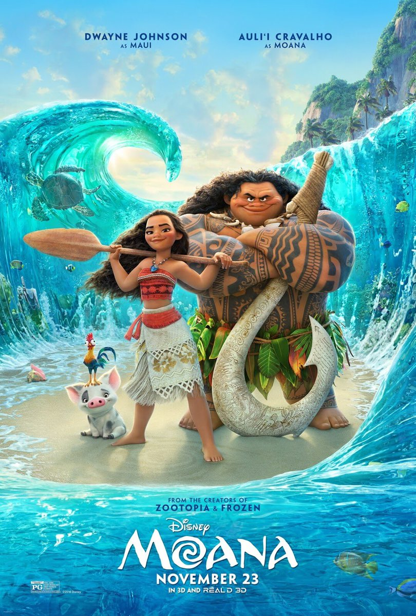Disney's Moana - New Poster!  https://t.co/yolD2galfb #Moana https://t.co/UPhW3hjCDn