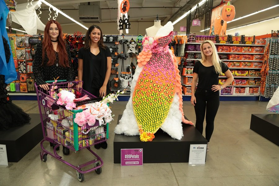 PHOTOS FIDM Students Create High Fashion Outfits Using Items From The 99 Cents Store