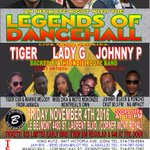 Legends of Dancehall #LadyG #Tiger #JohnnyP #live #Montreal #Showcase Nov. 4th @CultureMontreal @Montrealblack https://t.co/pEQn9rnwOx