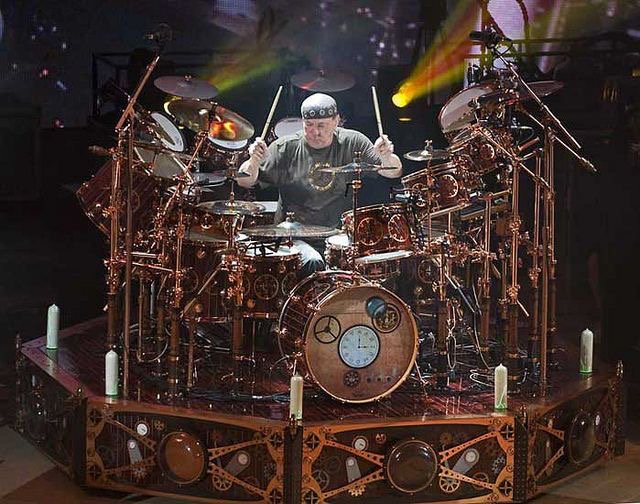 Happy Birthday to the great drummer that ever lived, Neil Peart!  @rushtheband https://t.co/kXtgtAI63E