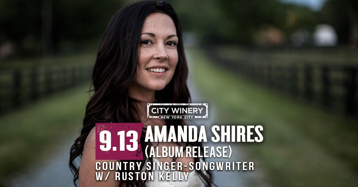 Don't miss @amandashires TOMORROW w/@RustonKelly! Head over to our FB page to win a pair of tickets to this show! https://t.co/jJOewN6qNV