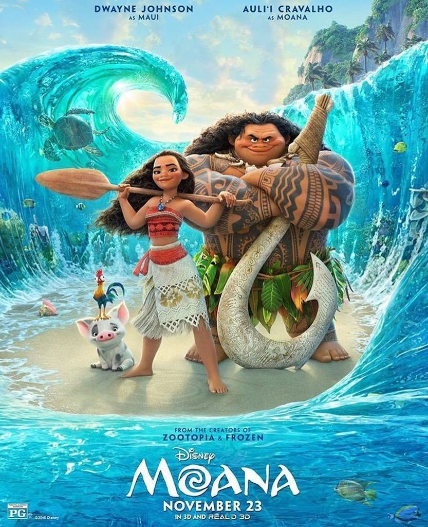 Here's a first look at the official poster for #MOANA! Every Monday between now and Novemb… https://t.co/R7CdoDXw3G https://t.co/bHVfHh4qwb